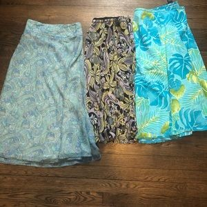Lot of 3 plus size skirts